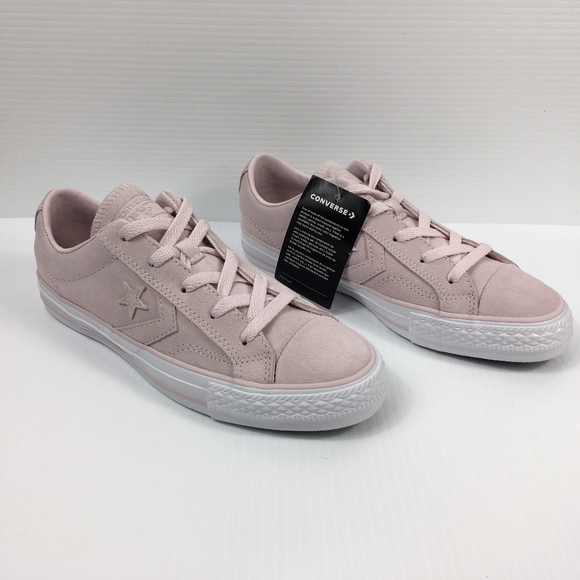 Converse Star Player Ox Barely Rose Pink Suede NWT